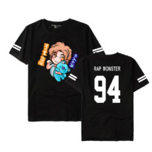 BTS (Bangtan Boys) Cute Cartoon Band Member T-Shirts