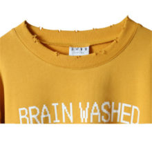 "EXO ChanYeol's ""Brain Washed Generation"" Cropped Sweater"
