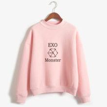 EXO Monster Emblem Pullover Sweater