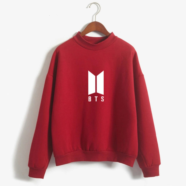 BTS (Bangtan Boys) Simple Emblem Sweater & Sweatshirt